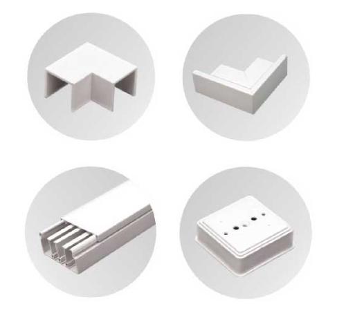 Mini/Maxi Trunking & Fittings
